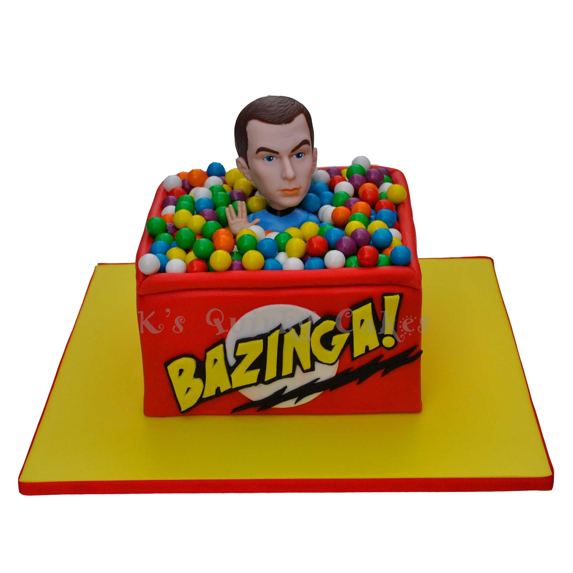Big Bang Theory Cake By K S Quirky Cakes