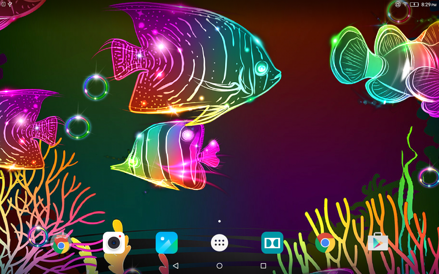 Neon Fish Live Wallpaper Android Apps on Google Play