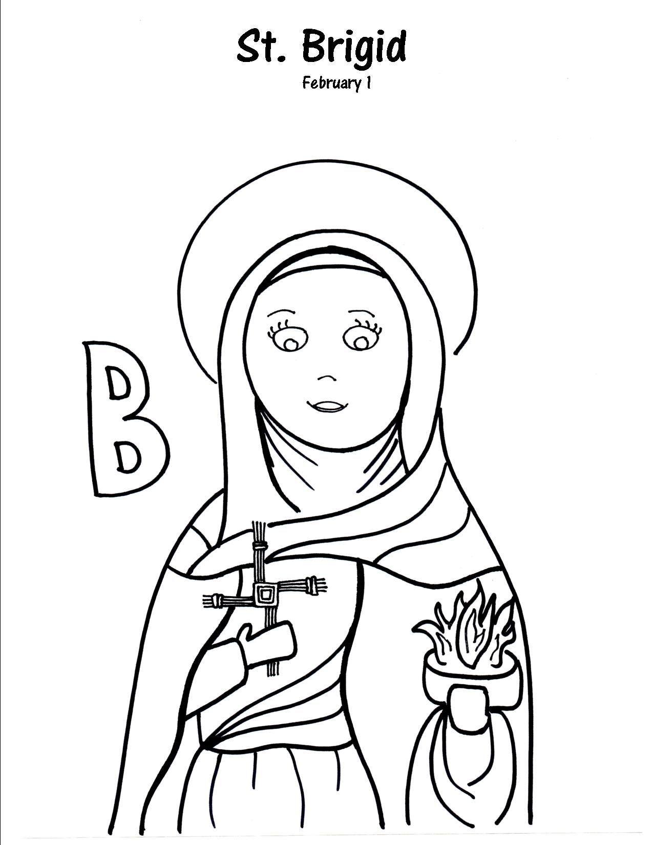 B Is For St Brigid
