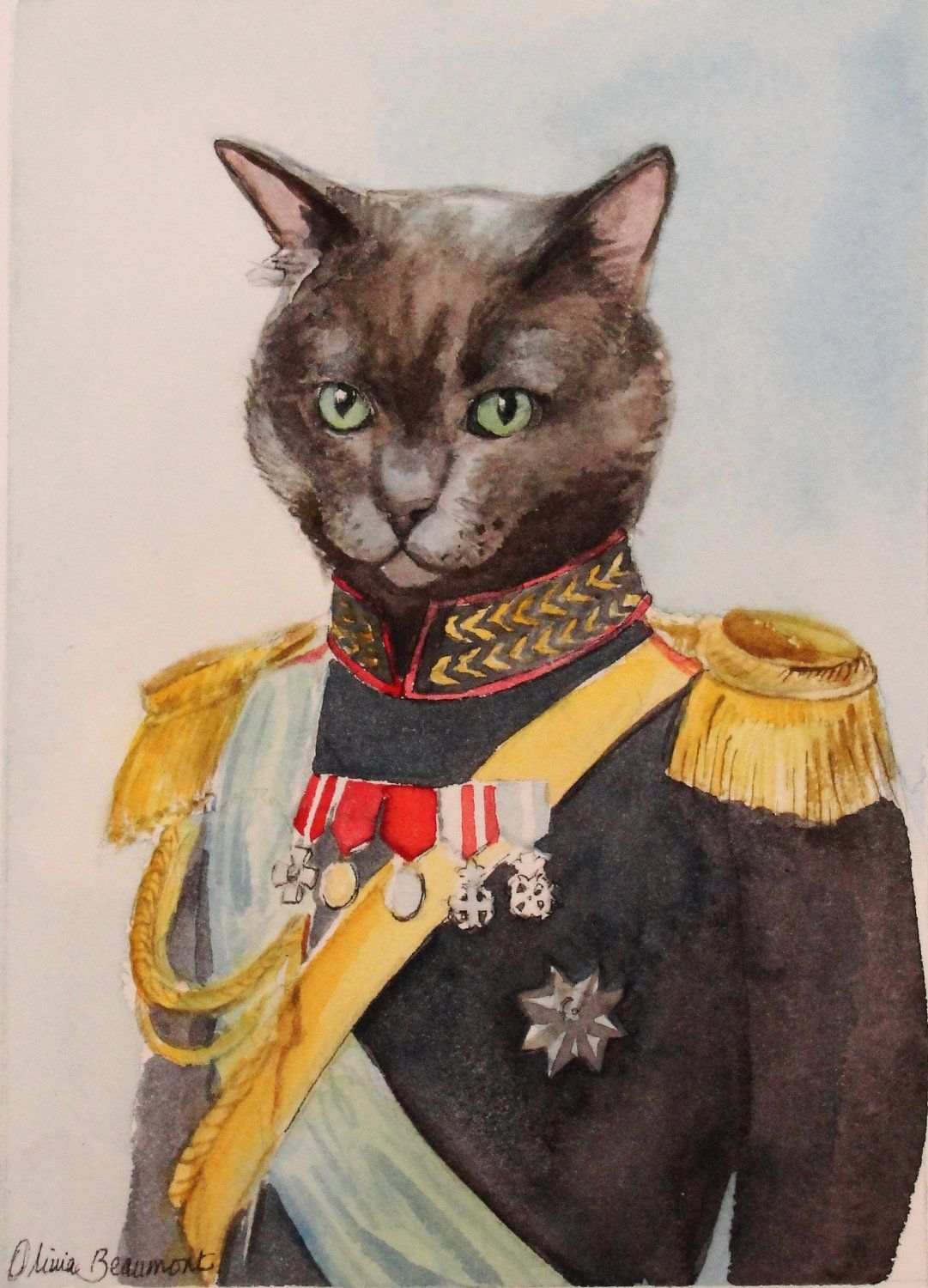 Custom Pet Portrait in Costume, 75 Things that are