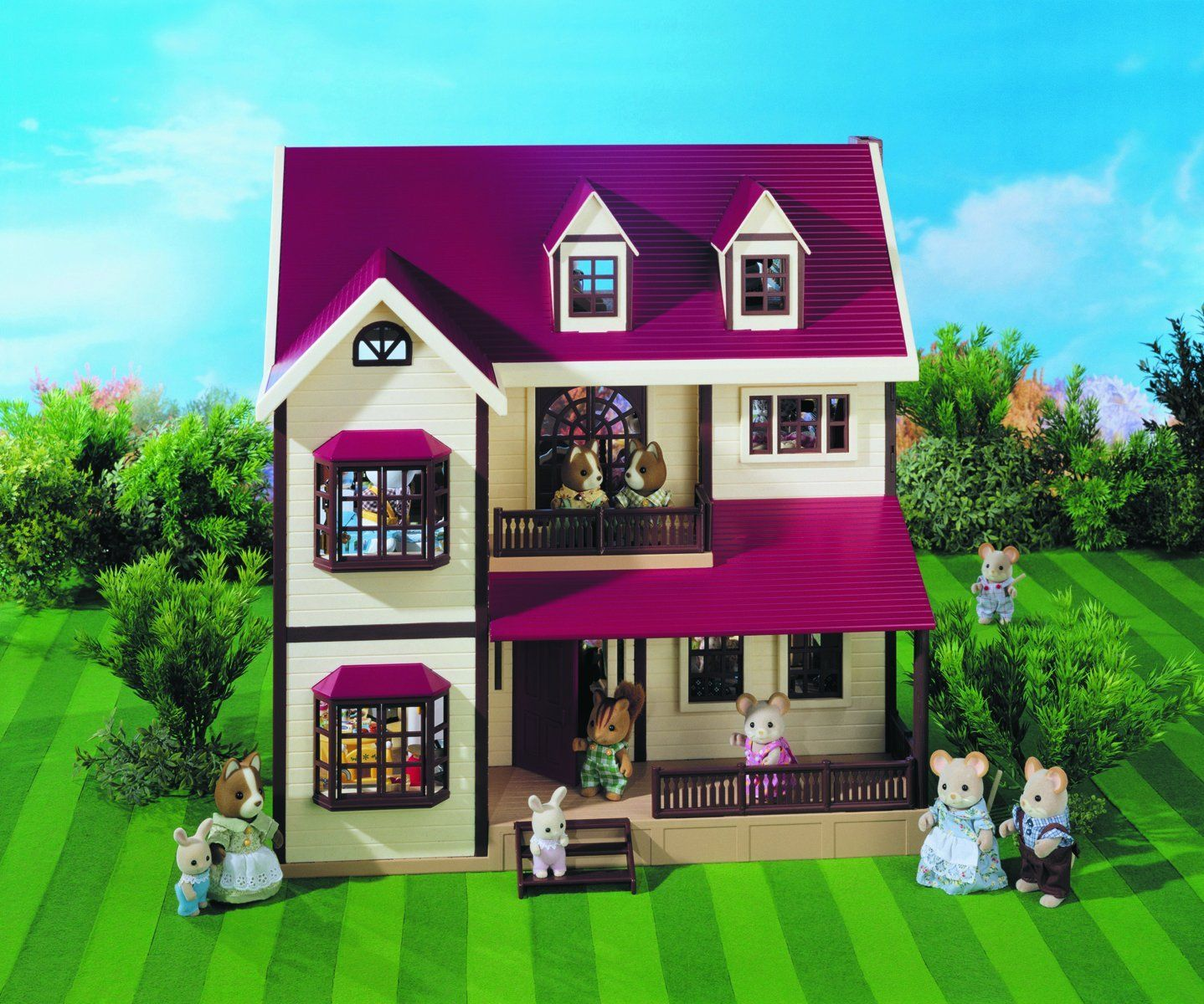 Sylvanian Families Oakwood Manor House Doll houses