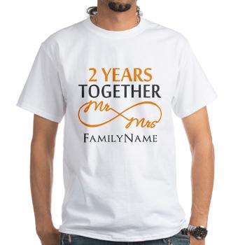 Gift For 2nd Wedding Annivers Men's VNeck TShirt