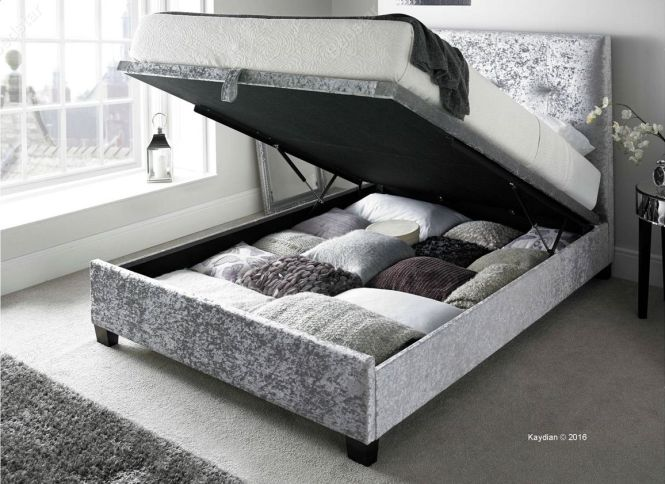 Mw Kaydian Design Dreydern 5ft Kingsize Ottoman Bed Oatmeal Home Pinterest And Ottomans