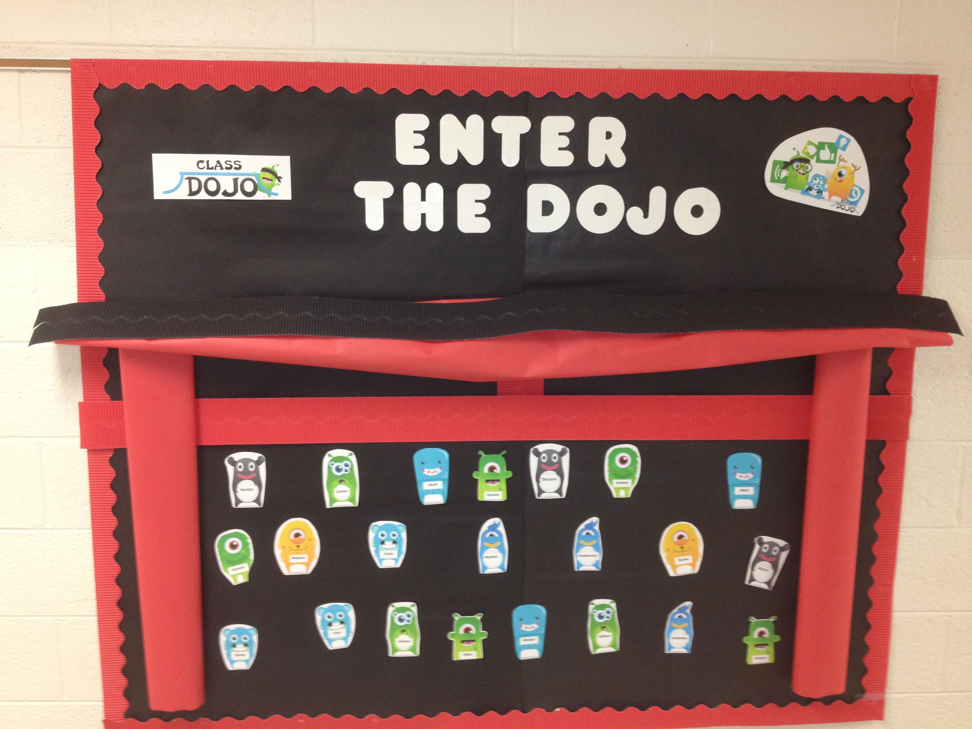 Enter the Dojo! Getting my kids excited about using Class
