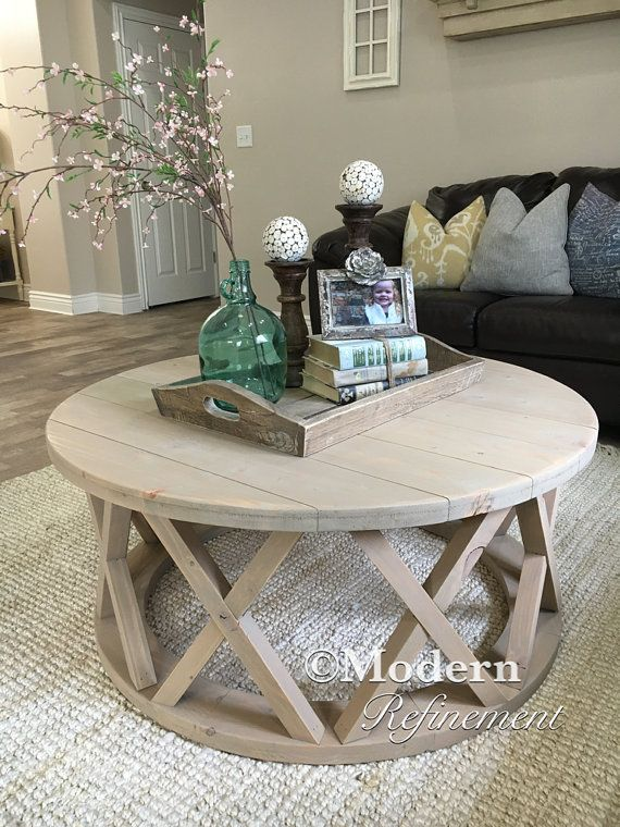 The Kennedy coffee table round coffee table accent