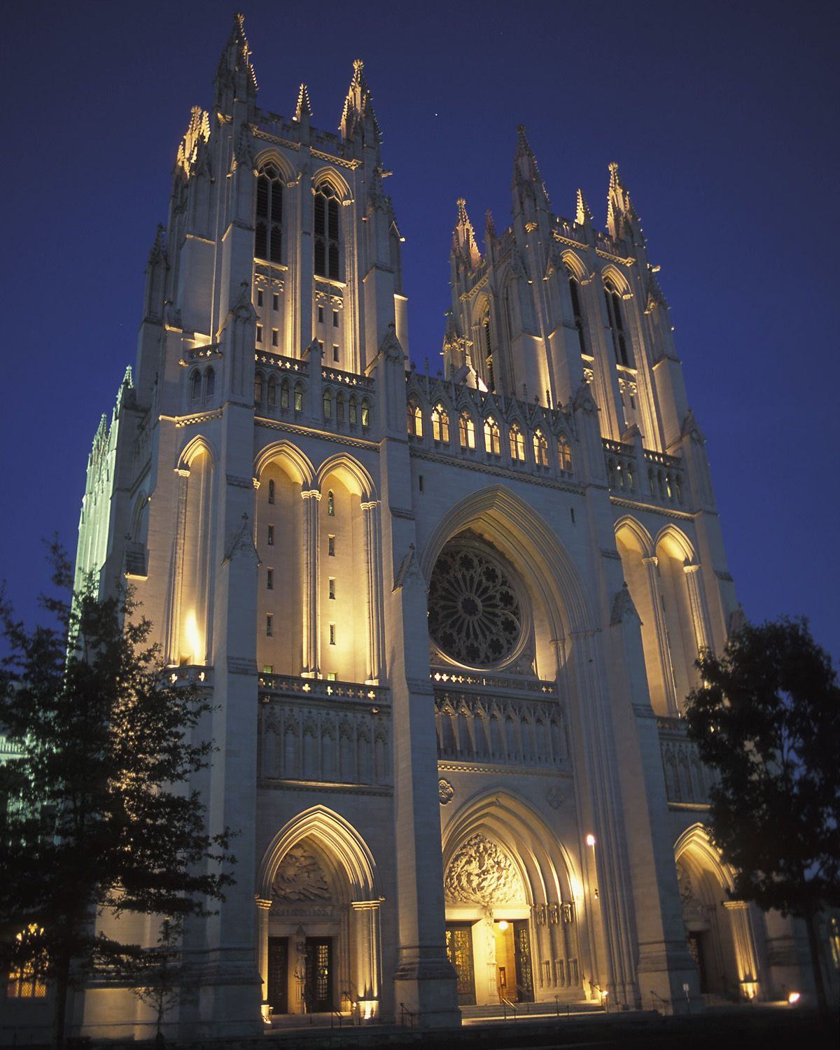 See Photos Of The Washington National Cathedral
