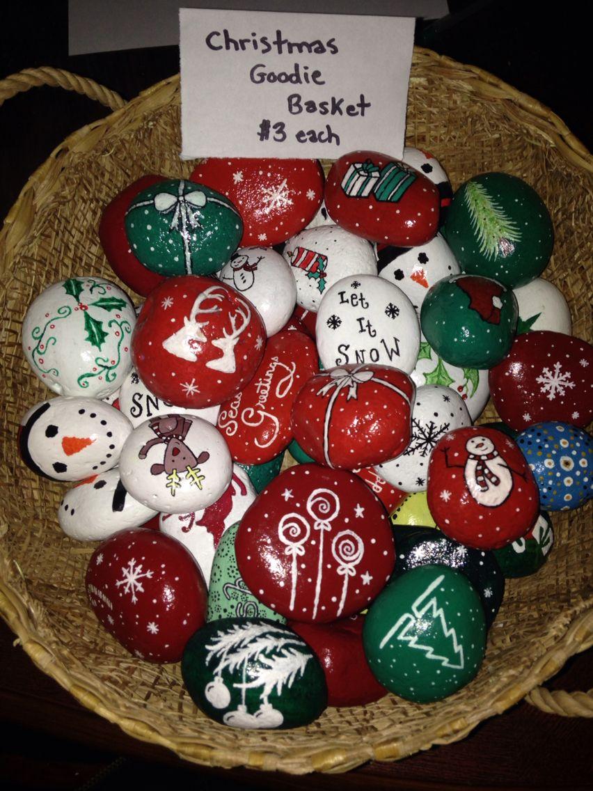 My mini Christmas Rocks )...by Shaunicie Rock Rocking