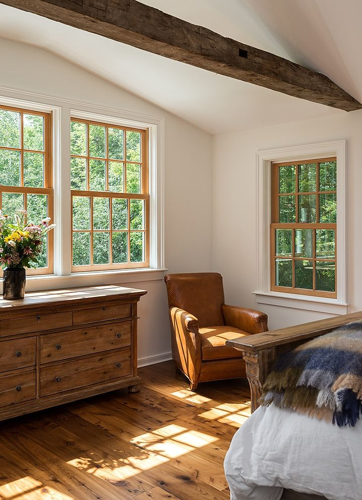 Massachusetts Farm House by Crisp Architects Baseboard