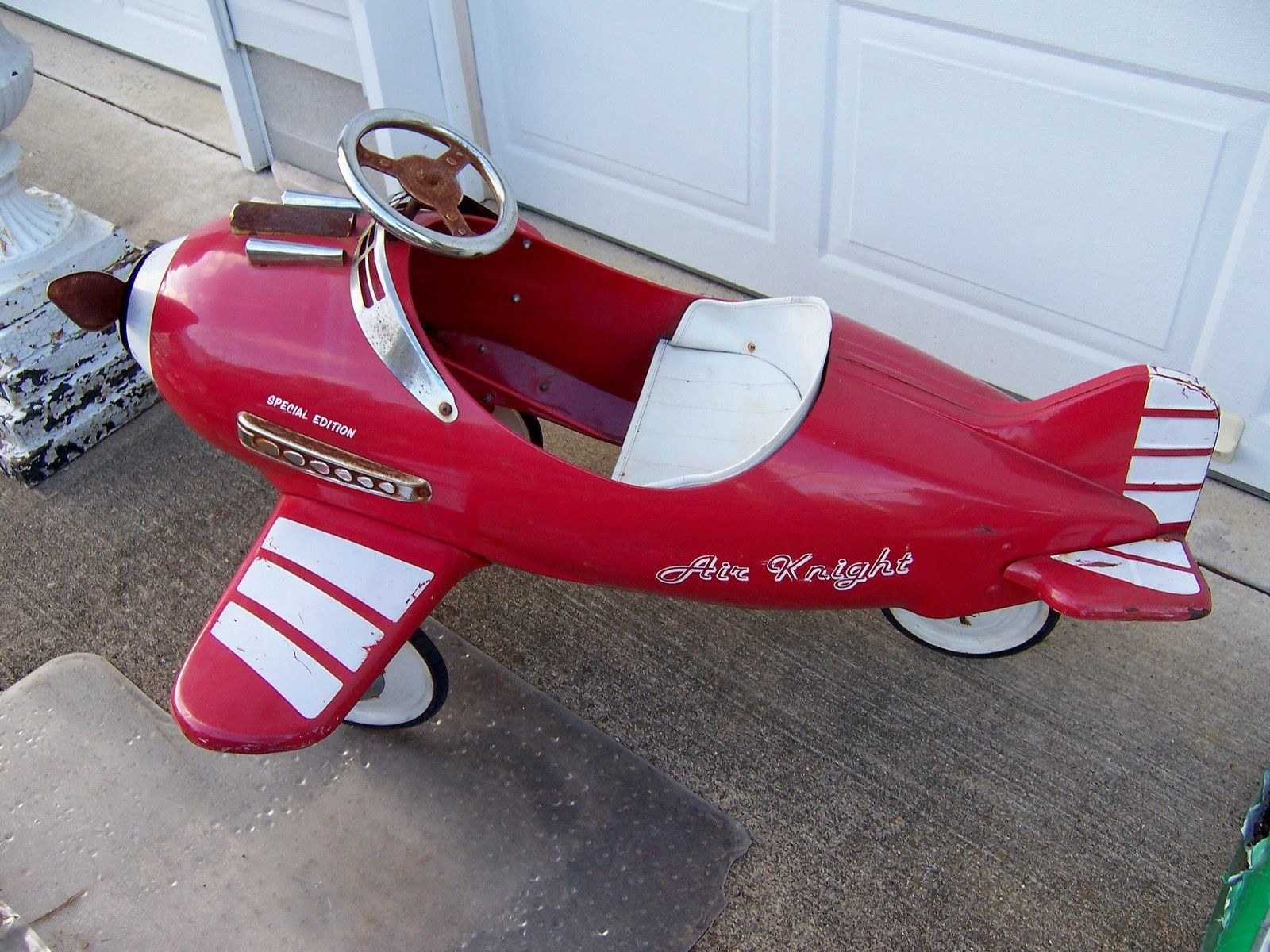 Pedal Car Air Knight Special Edition Pressed Steel Vintage