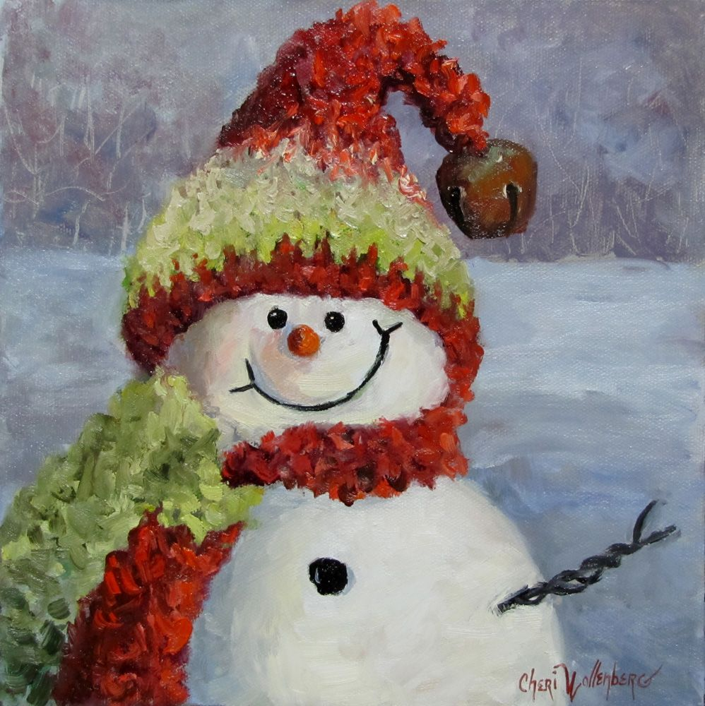 Christmas Oil Paintings, 100 Handpainted on Canvas by