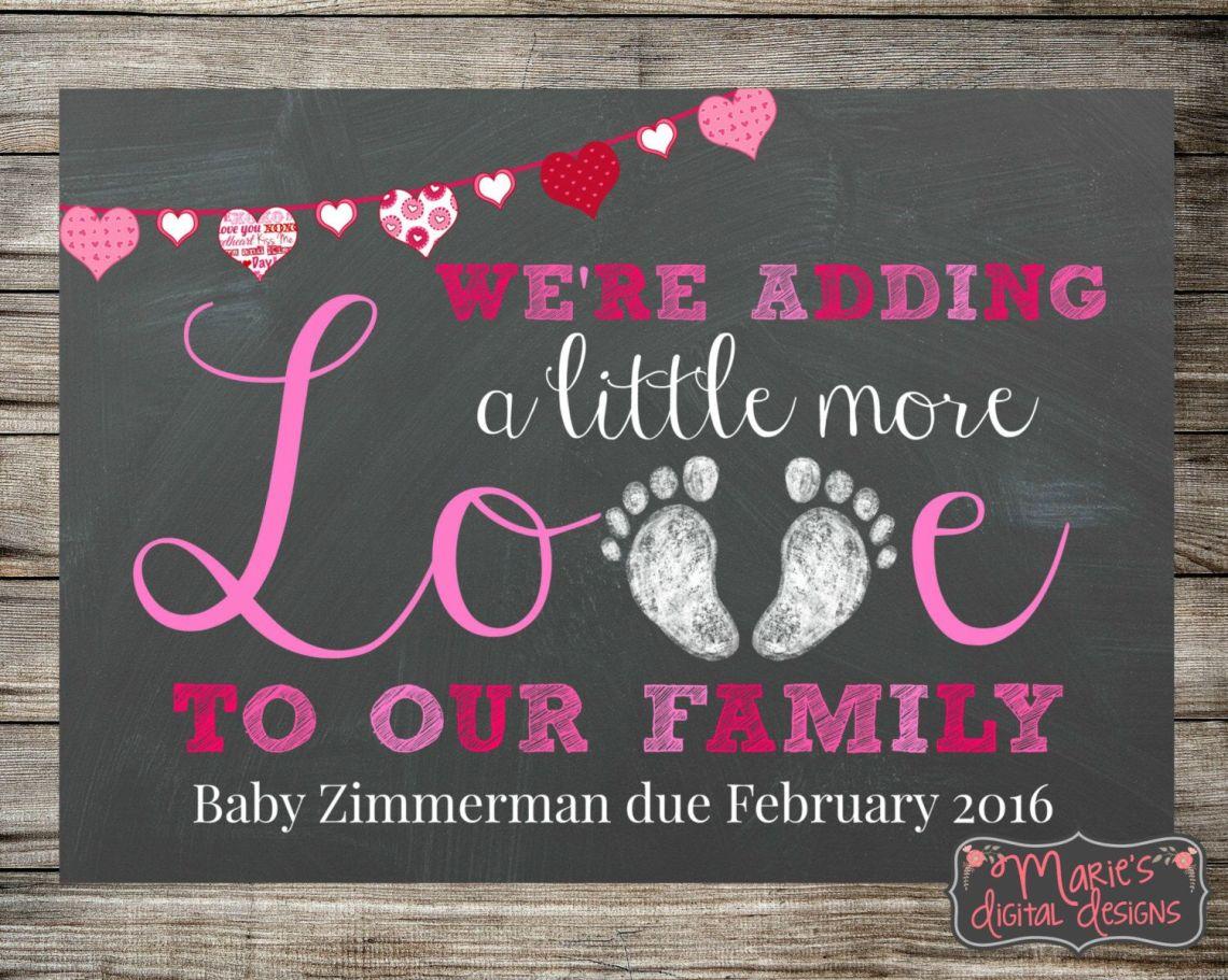 Download Printable Pregnancy Announcement - Adding Little More Love ...