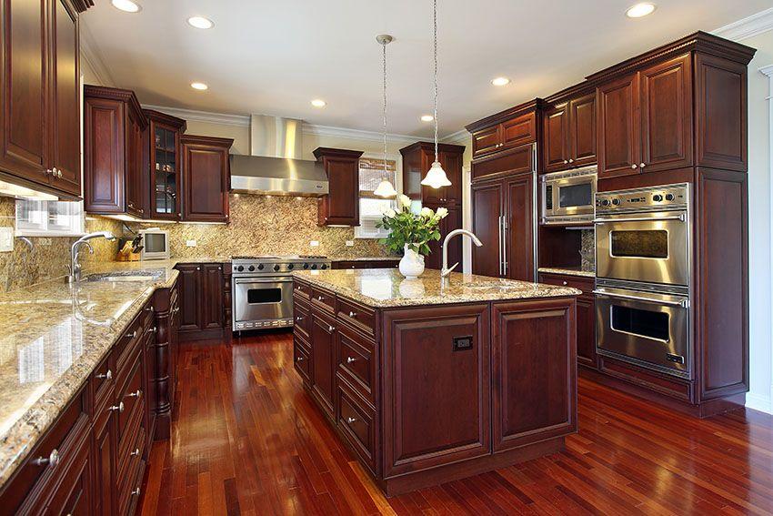 23 Cherry Wood Kitchens Designs & Ideas) Wood