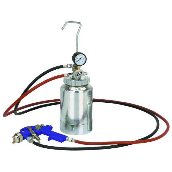 pressure feed system paint gun