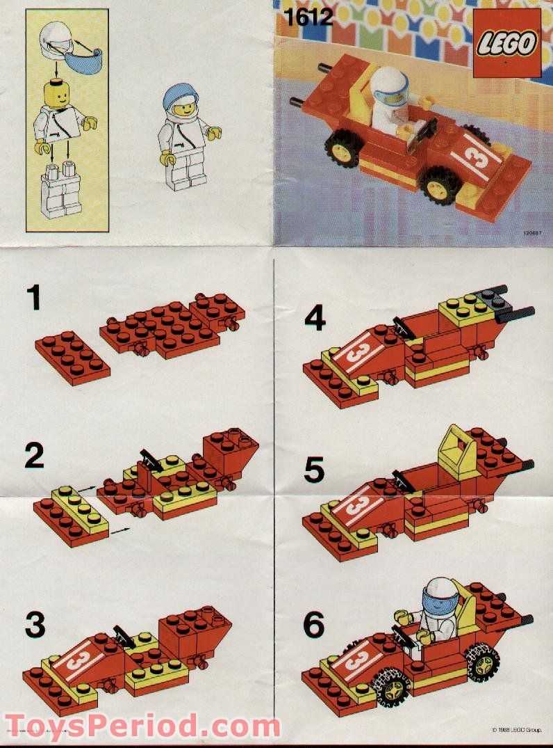 Lego Race Car instructions Lego Love Pinterest Lego