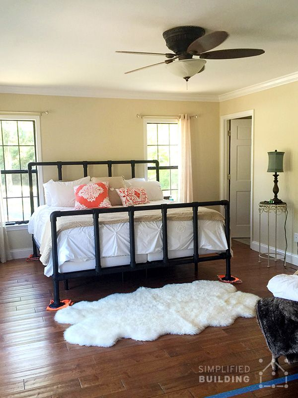 47 Diy Bed Frame Ideas Built With Pipe Home Pinterest