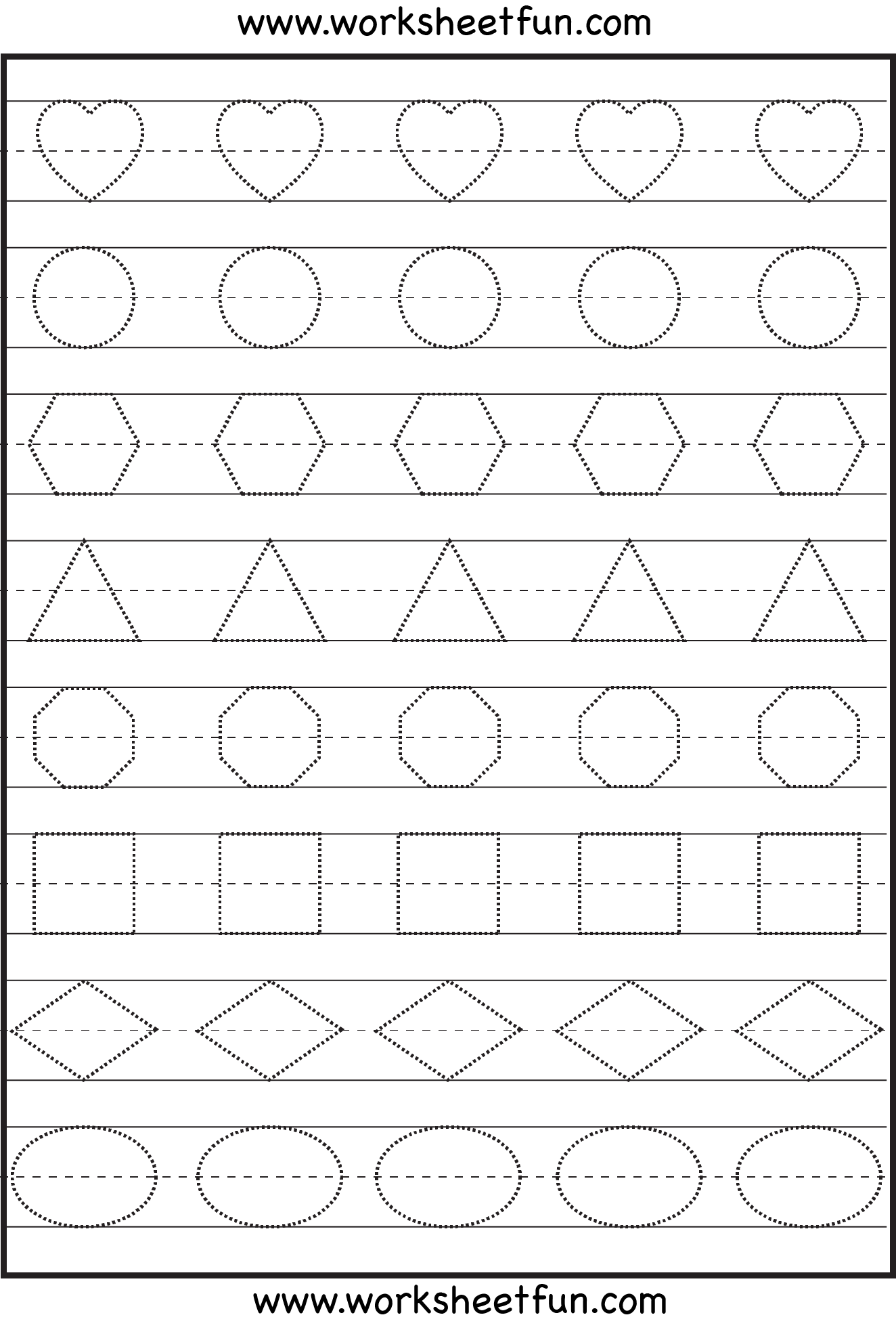 Shape Tracing Letters Amp More