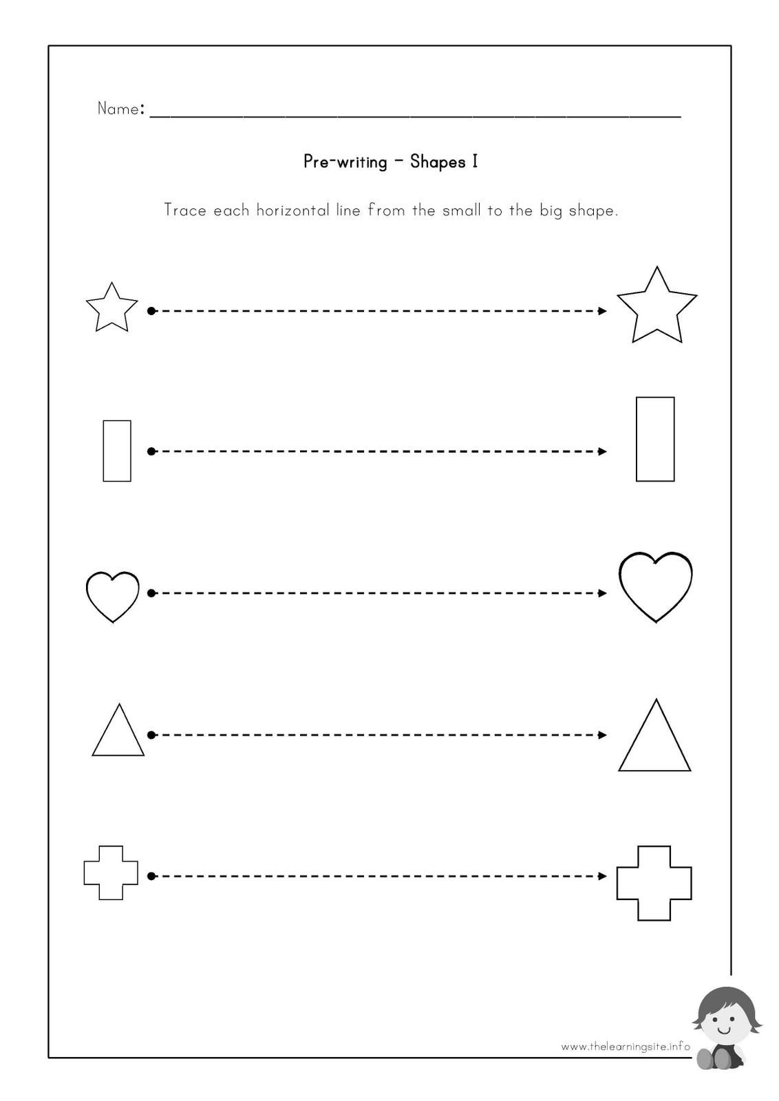 Worksheet Horizontal And Vertical Lines Worksheet
