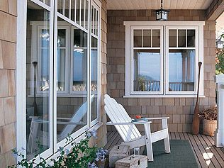 Waterfront Cottage Replacement Windows For The Home