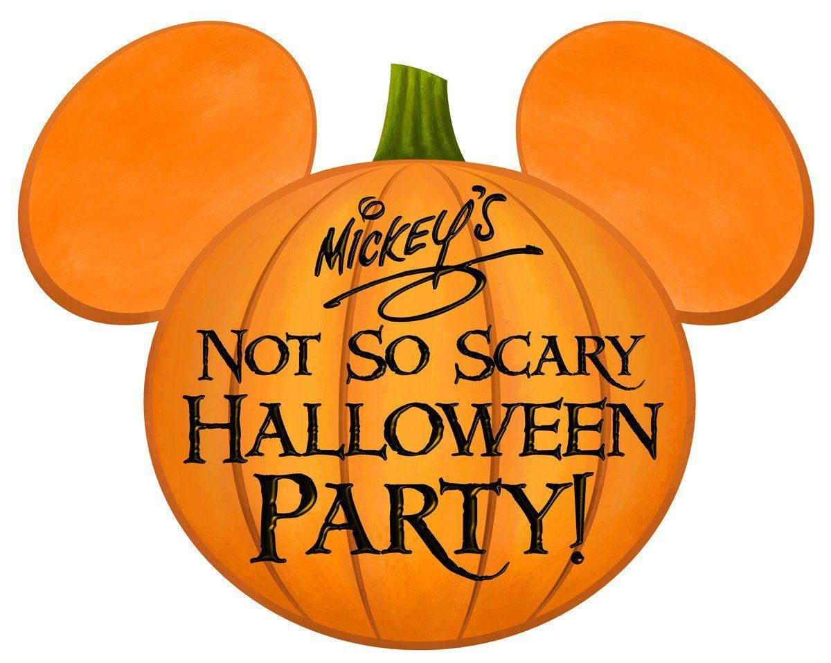 Mickey's Not So Scary Halloween Party Halloween