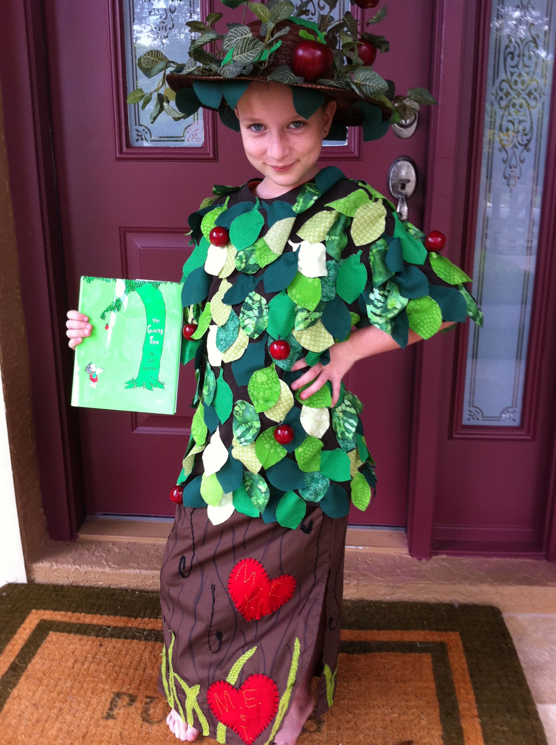 The giving tree costume for storybook character day