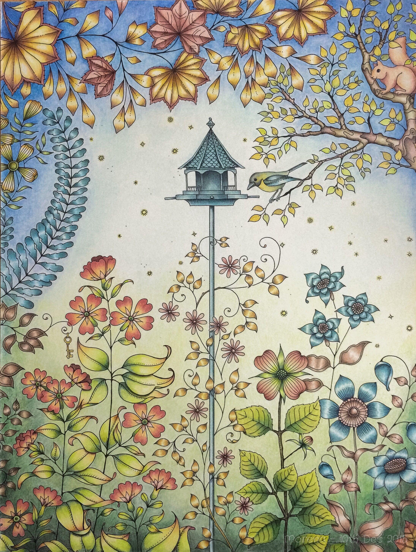 Secret Garden Artist's Ed. Coloured by Morena Vajak