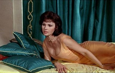 Image result for nadja regin in from russia with love