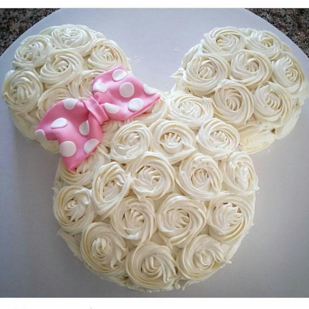 Rosette Minnie Mouse Cake