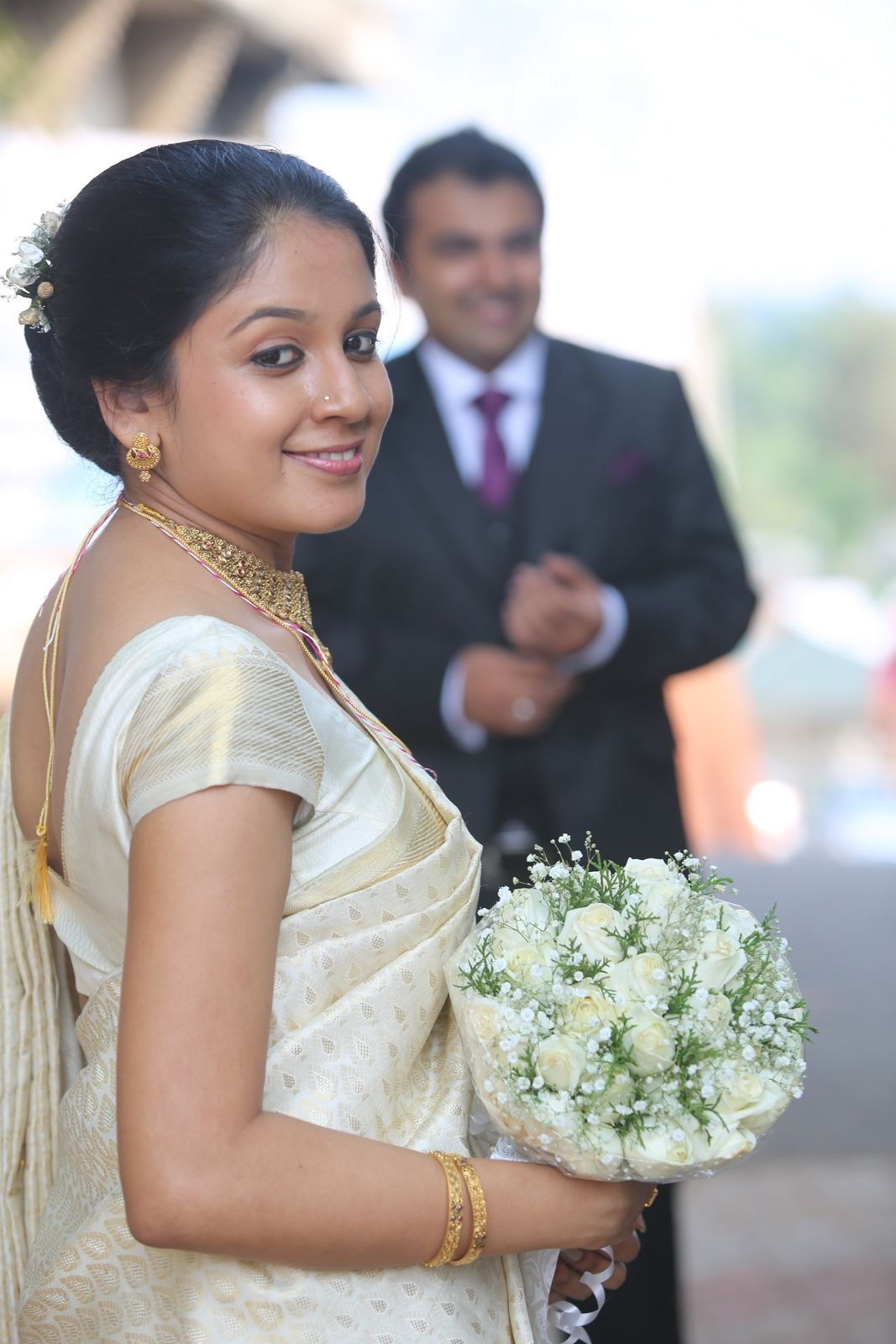 kerala bride Wedding Pinterest Saree, Silk and Brides