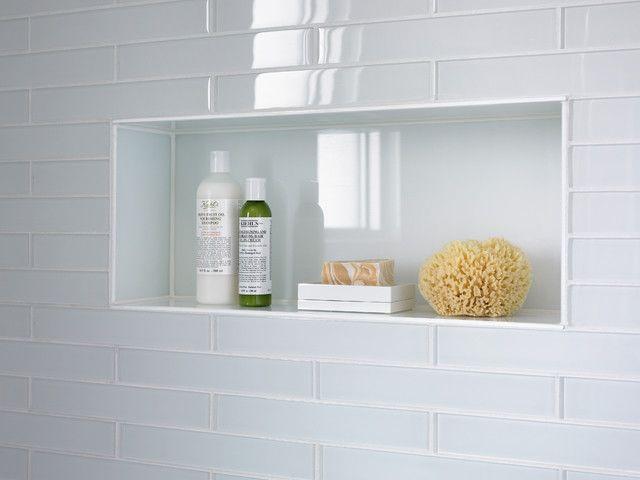 Clear Glass For Shower Niche Bathroom Ideas Pinterest