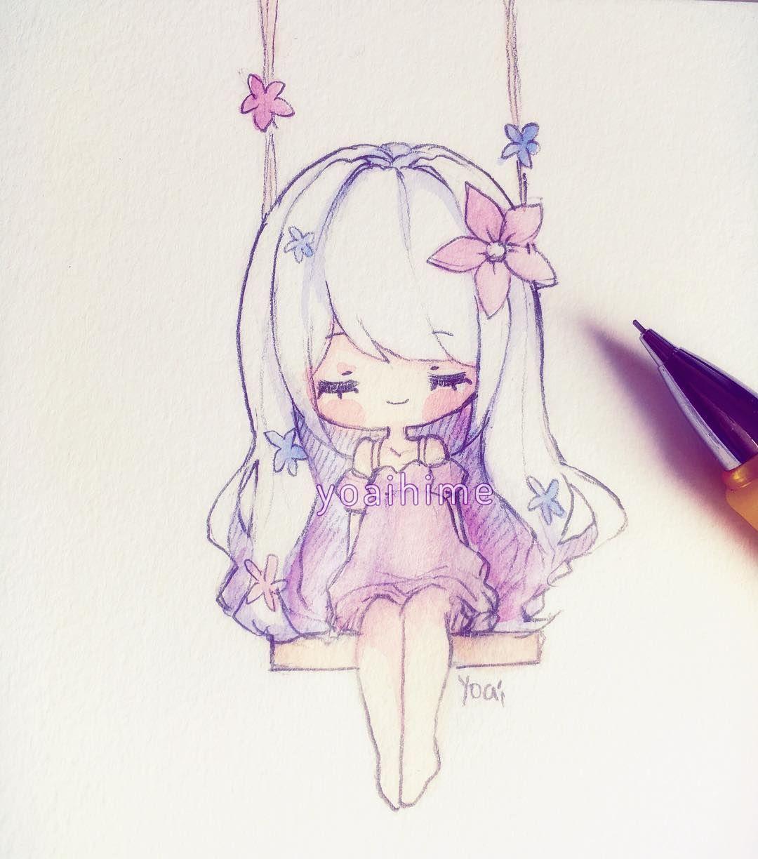 Caloroso. … Kawaii Pinterest Doodle sketch, Chibi