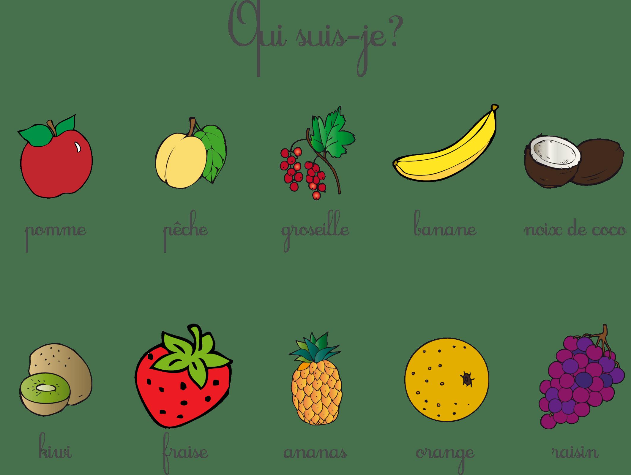 Bloglicours Devinettes Fruits
