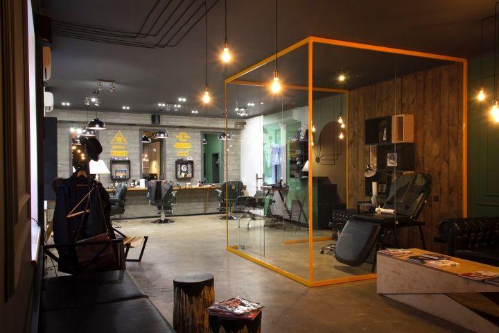 Barboss Barbershop And Tattoo Salon By Workshop Dmitriy
