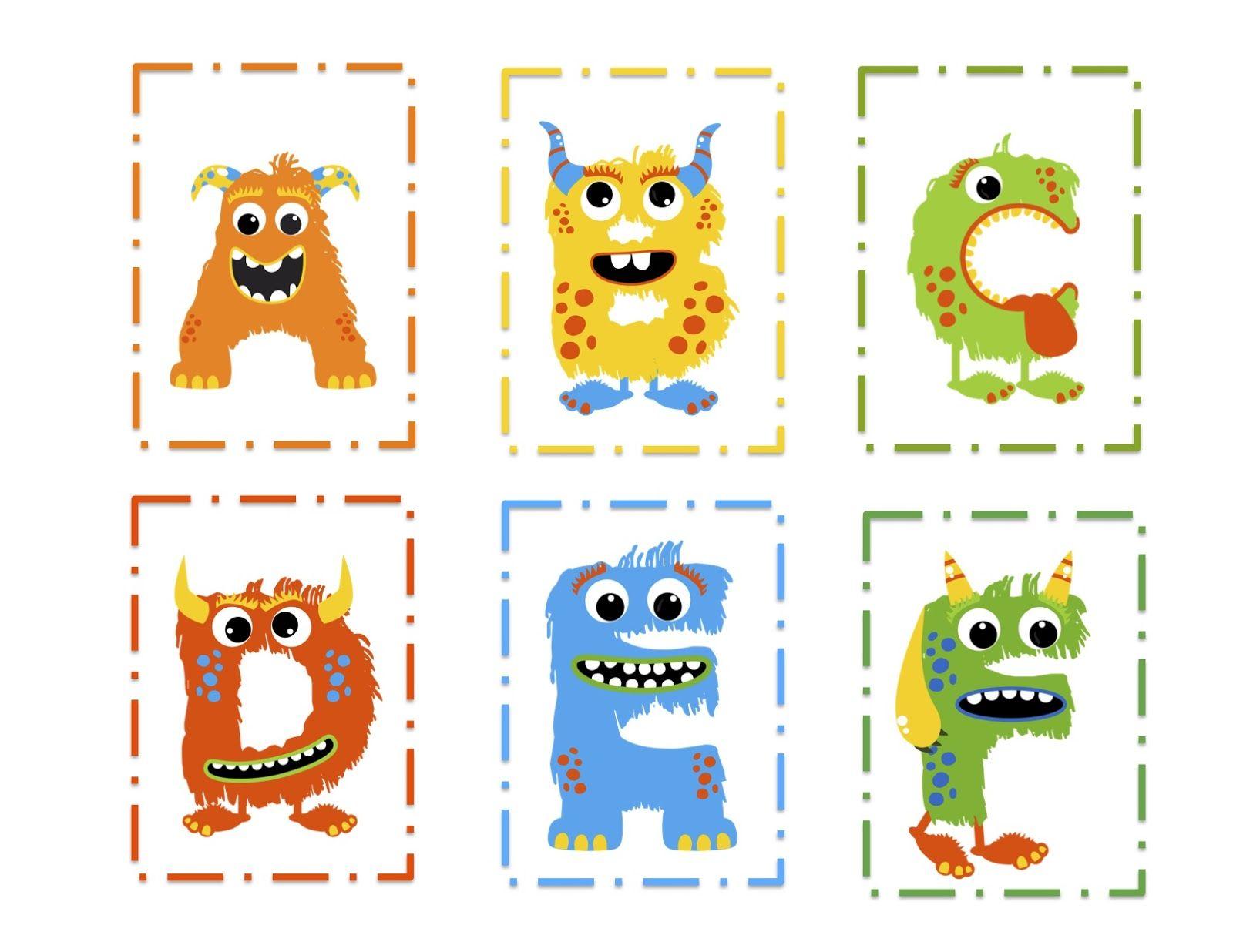 Monster Alphabet Worksheet