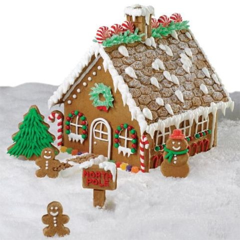 Image result for gingerbread house christmas