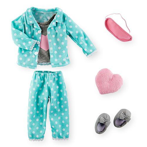 Journey Girls Sleepwear Fashion Pack Polka Dot Heart
