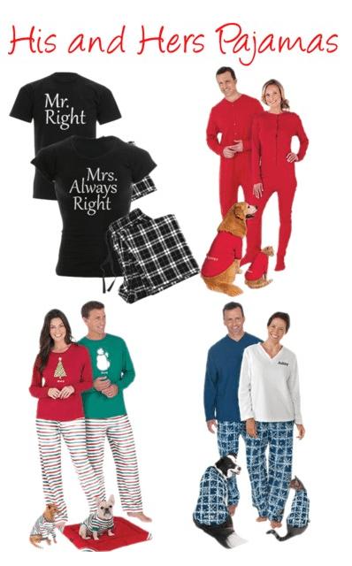 His and Hers Pajamas 15 Pairs of Matching Pajamas for