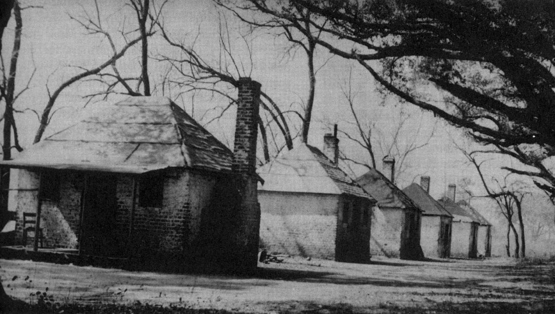Old Slave Quarters, these defiantly not homes Southern