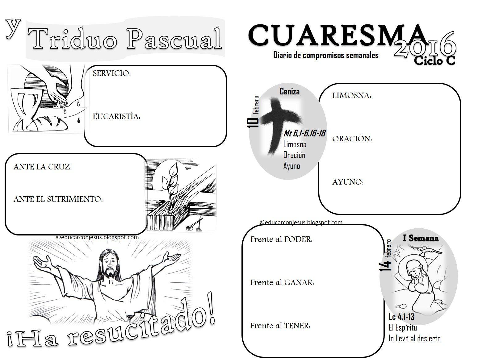 La Catequesis Cuadernillo De Fichas Para Imprimir Y