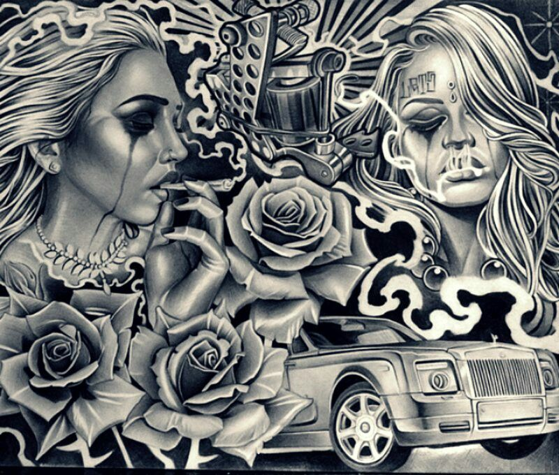 Pin by maxi sommerfeld on Chicano Lowrider style