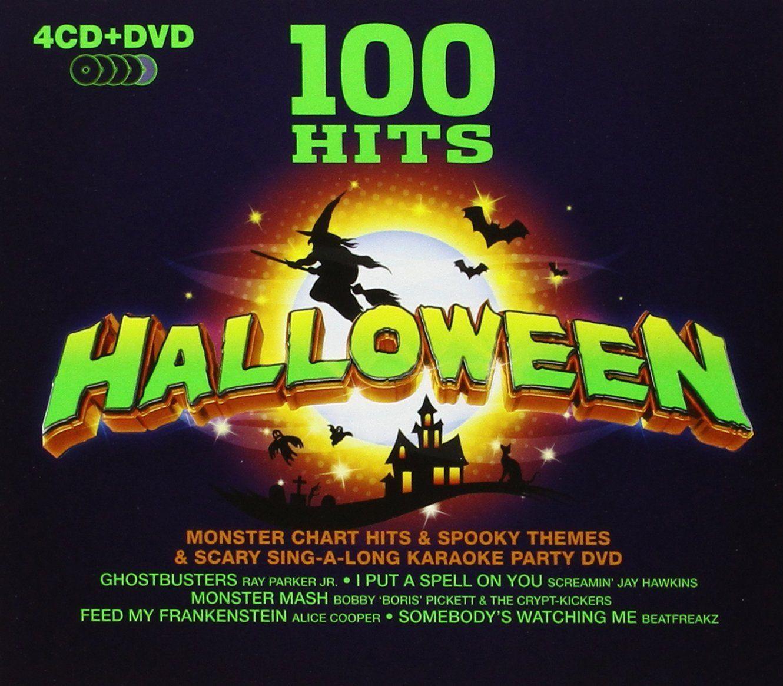 100 Hits Halloween By Various Artists (Artist) Pinterest