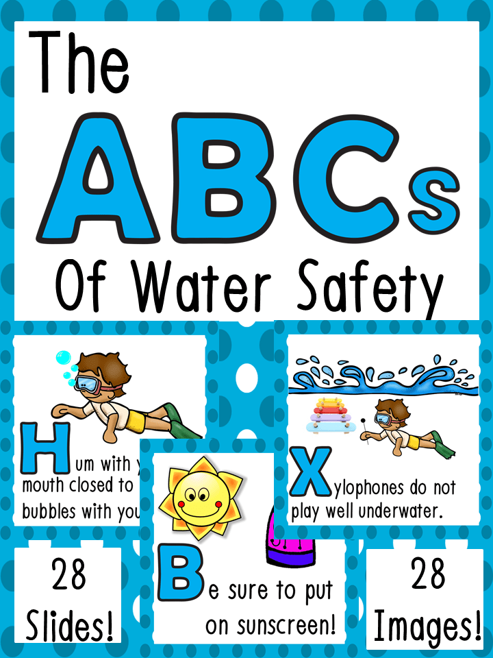 Water Safety ABCs Water safety, Lifeguard and Safety