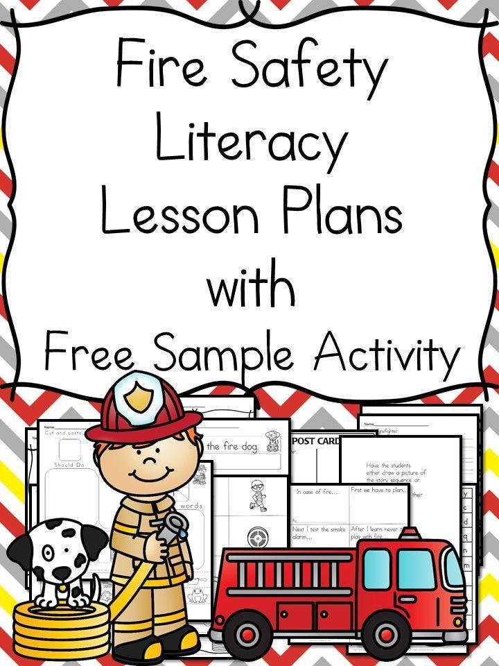 Fire Safety Worksheets for Kindergarten Preschool fire