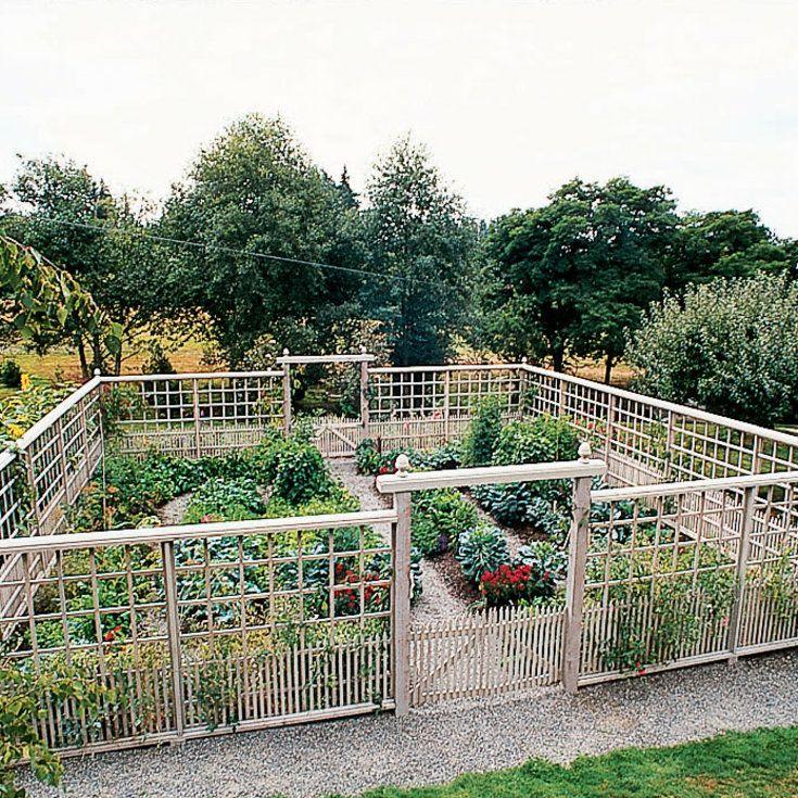 DeerProof Vegetable Garden Garden fencing, Fences and