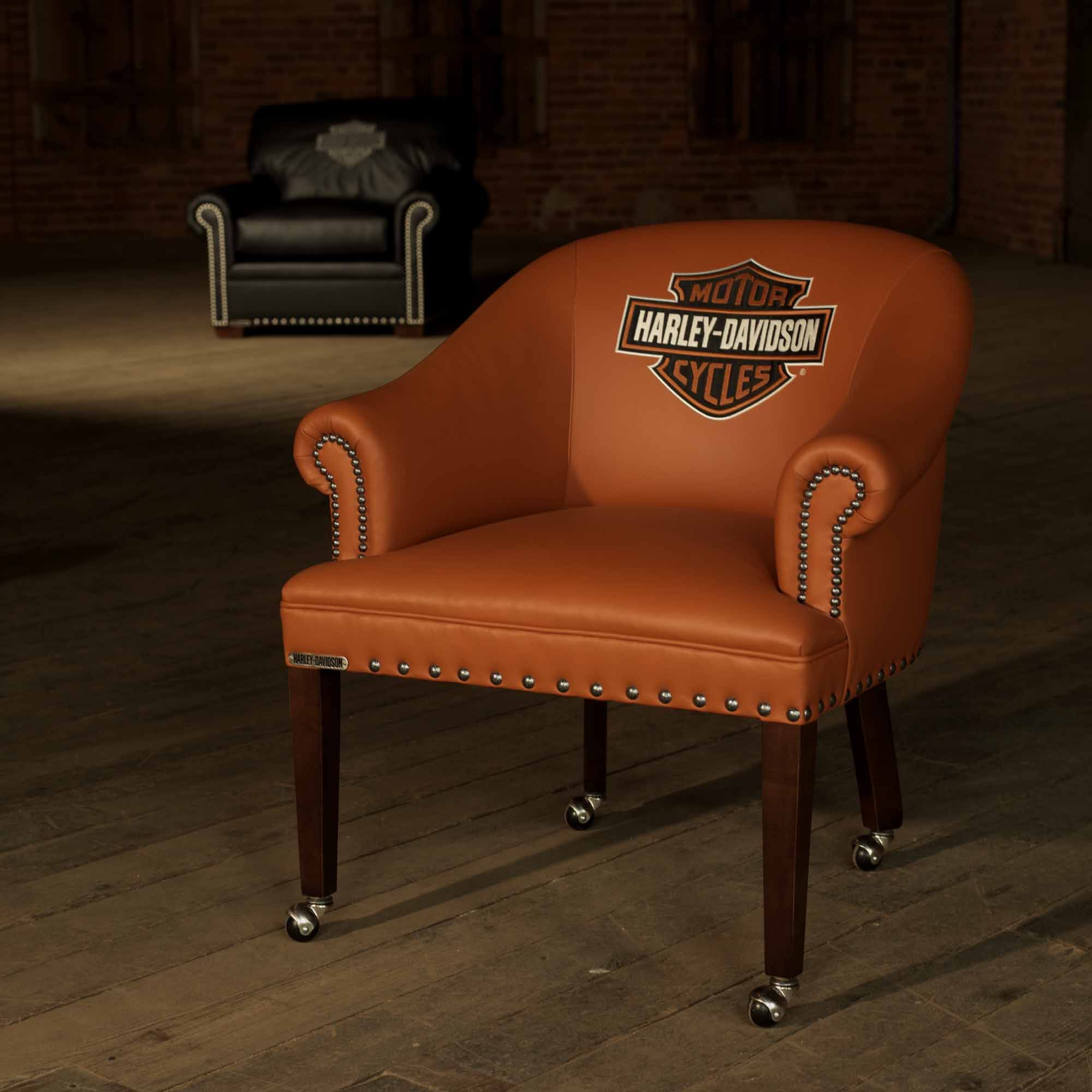 Pin By Classic Leather Inc On Harley Davidson Furniture