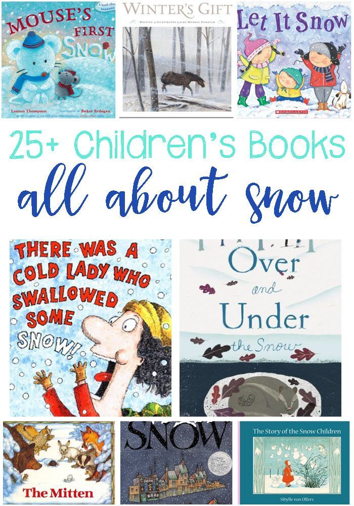 25+ Snow Books That Are Perfect For Winter Storytime