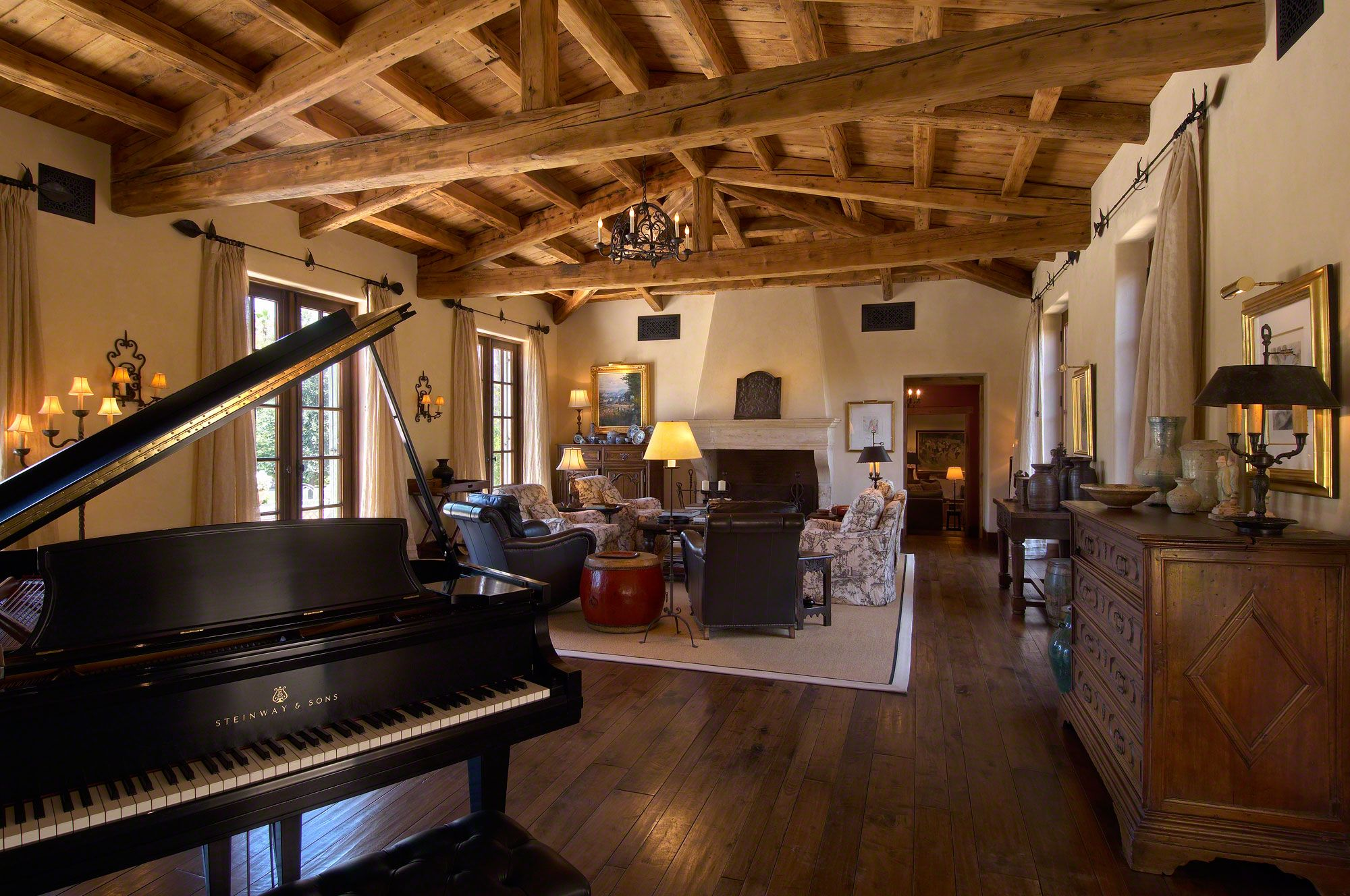 Best Kitchen Gallery: A Great Space For Entertaining Az Italian Villa Estate Luxury of Scottsdale Arizona Home Builder on rachelxblog.com
