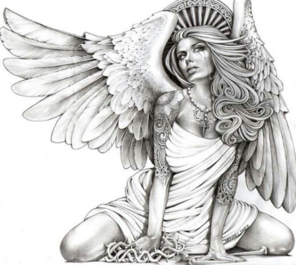 Beautiful Fallen Angel Art n Decor Pinterest Angel