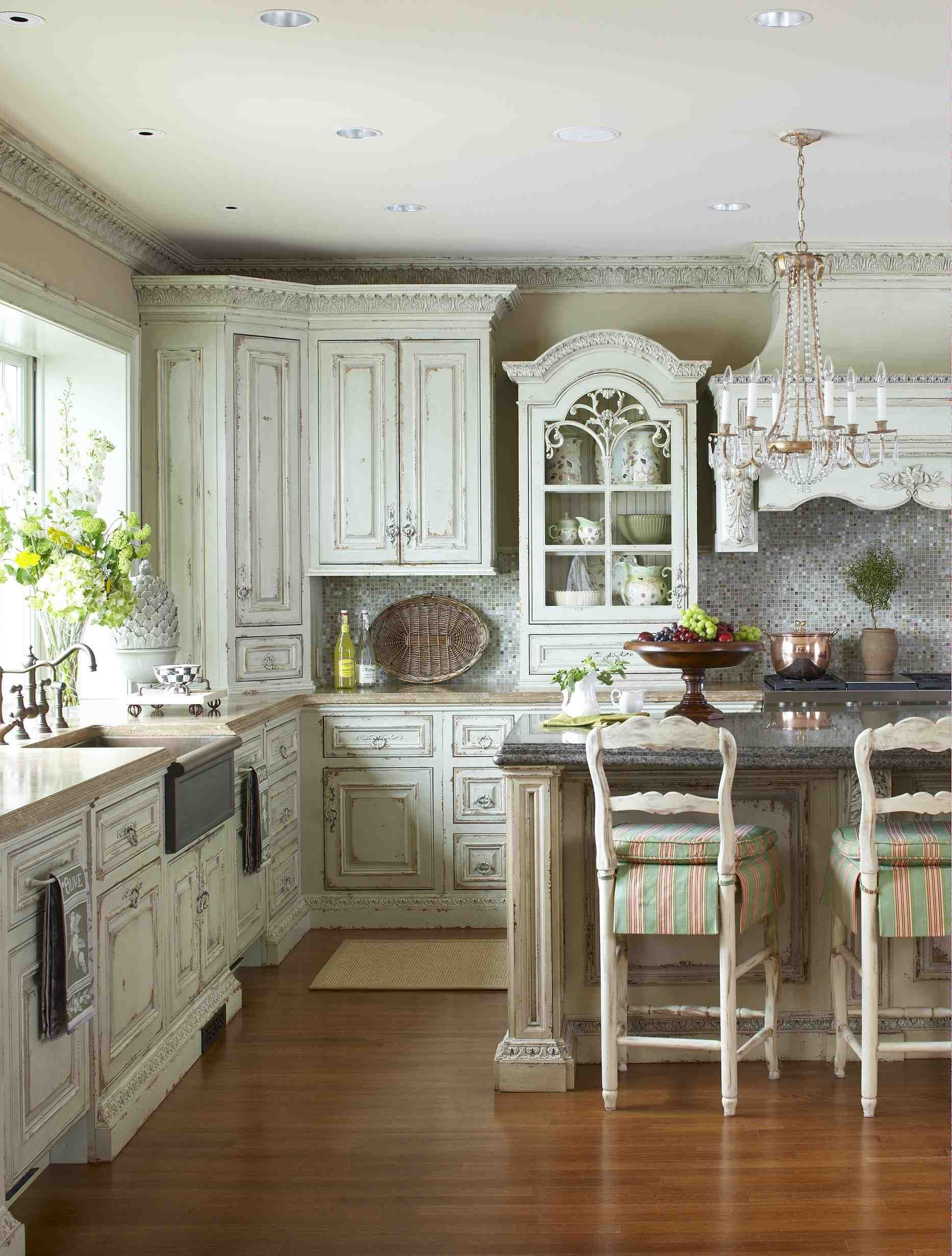 How to Style Your French Shabby Kitchen