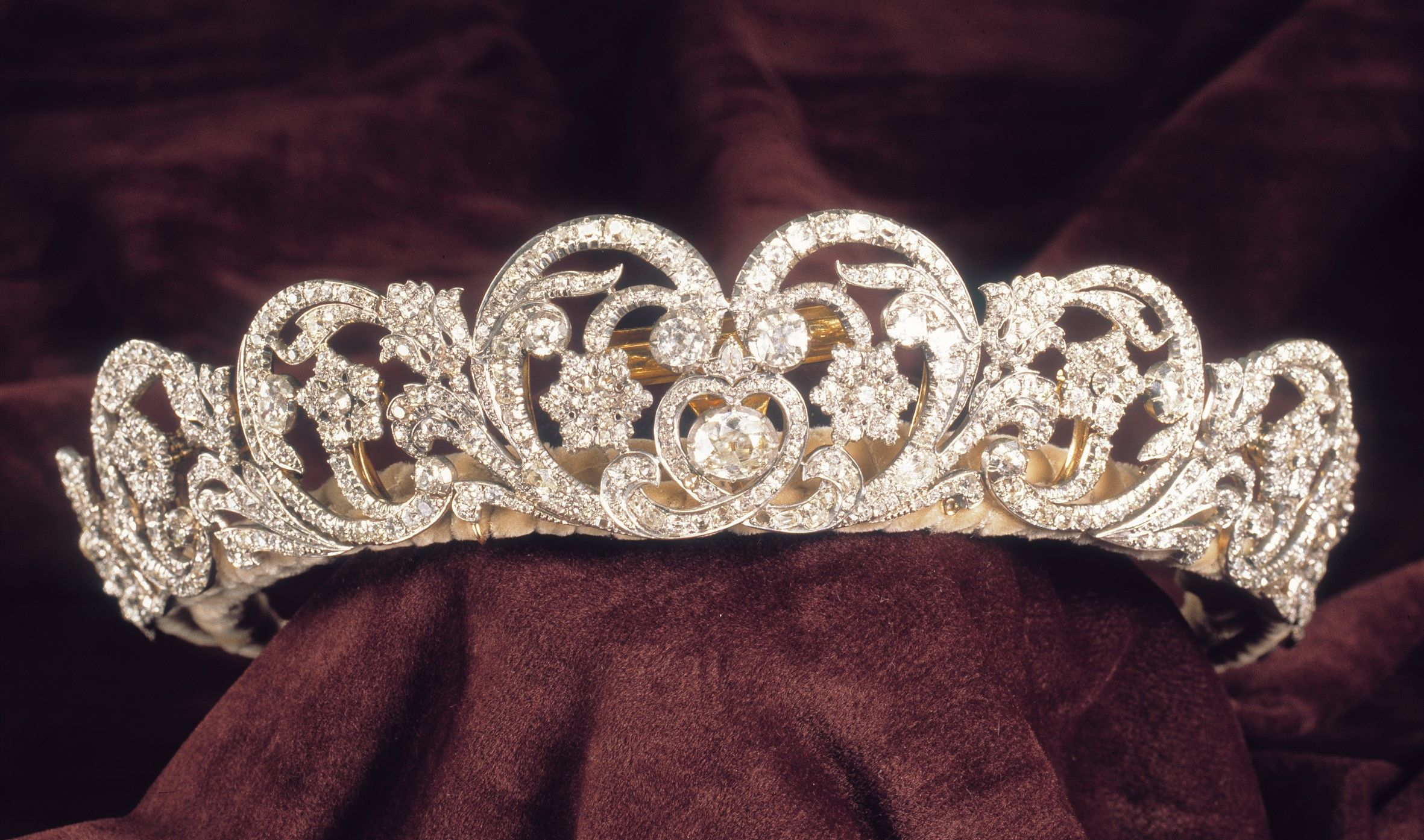 "Asprey & Co. Ltd. ""The Spencer Tiara,"" worn by Princess"
