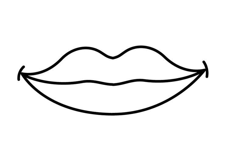 kleurplaat mond  kleuteronderwijs bedtijd voor monsters